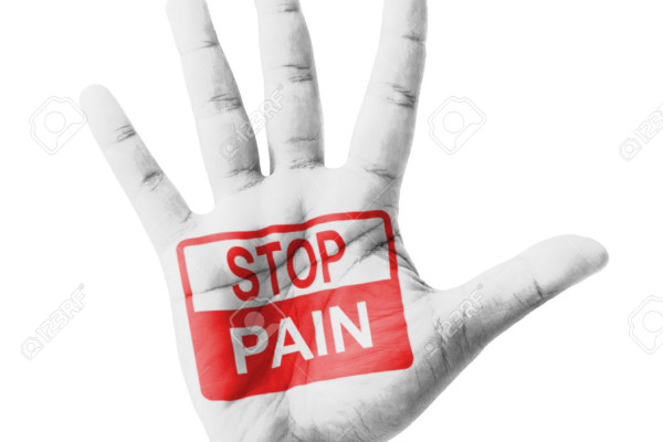 24468998-Open-hand-raised-Stop-Pain-sign-painted-multi-purpose-concept-isolated-on-white-background-Stock-Photo